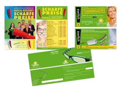 Leffers Optik, Flyer-Aktionen