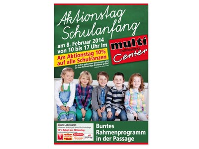 Multi Vollsortimenter Leer, Plakat
